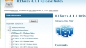 ICEfaces 4.1.1 發布,JSF 開發框架